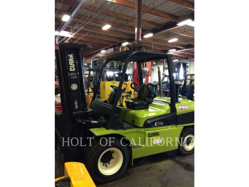 CLARK FORKLIFTS C55SD equipment  photo 1