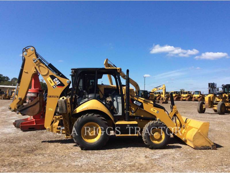 CATERPILLAR CHARGEUSES-PELLETEUSES 420F 4 equipment  photo 7