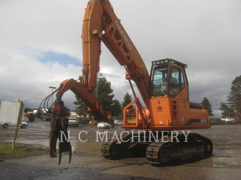 DAEWOO MÁQUINA FORESTAL 300LL equipment  photo 1