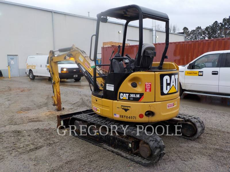 CATERPILLAR PELLES SUR CHAINES 303.5E CR equipment  photo 12