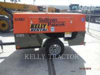 SULLIVAN AIR COMPRESSOR D185P PK equipment  photo 2