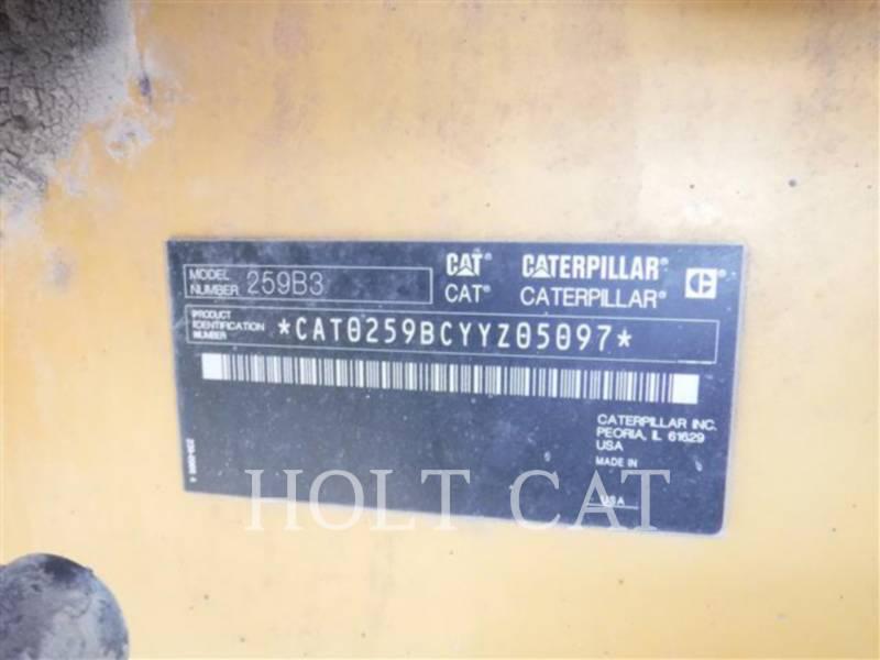 CATERPILLAR PALE CINGOLATE MULTI TERRAIN 259B3 equipment  photo 5