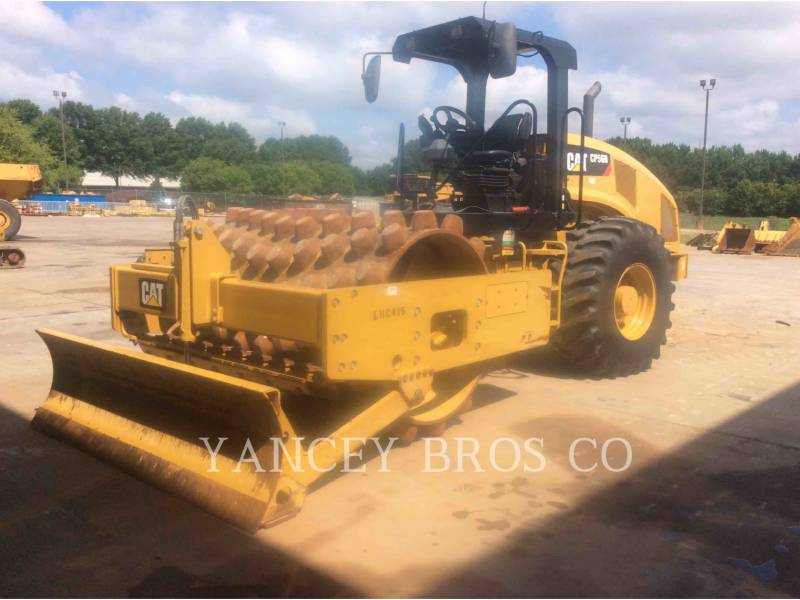 CATERPILLAR VIBRATORY SINGLE DRUM PAD CP56B equipment  photo 1