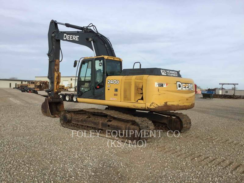 JOHN DEERE TRACK EXCAVATORS 240DLC equipment  photo 3