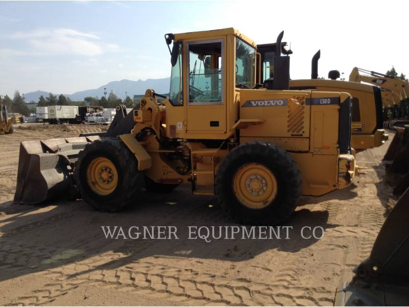 VOLVO WHEEL LOADERS/INTEGRATED TOOLCARRIERS L50D equipment  photo 1