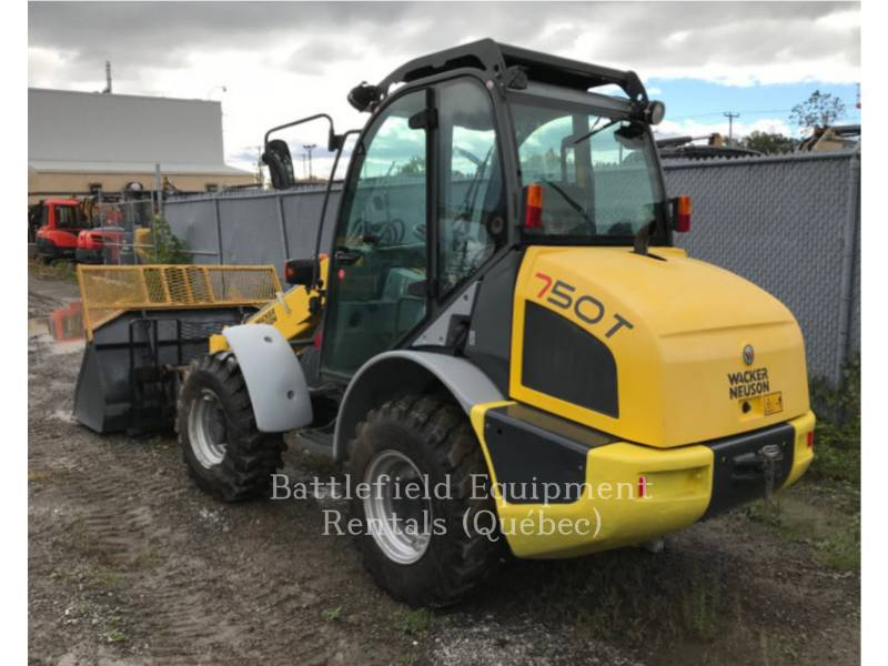 NEUSON W RADLADER/INDUSTRIE-RADLADER 750T equipment  photo 2