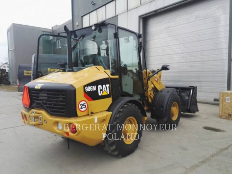CATERPILLAR CARGADOR FORESTAL 906M equipment  photo 2