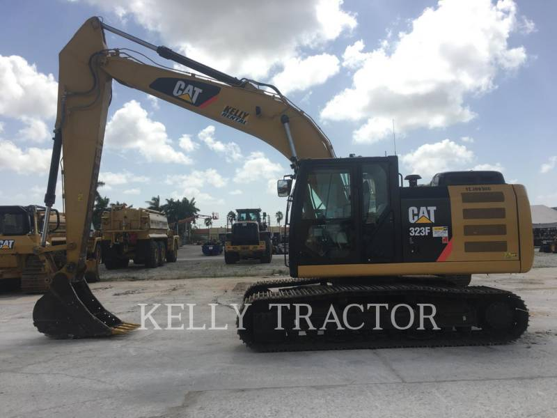 CATERPILLAR PELLES SUR CHAINES 323FL equipment  photo 6
