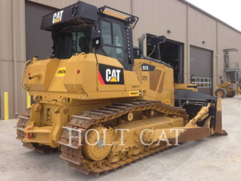 CATERPILLAR TRACK TYPE TRACTORS D7E equipment  photo 4