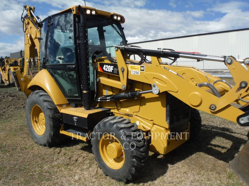 CATERPILLAR バックホーローダ 420F 4ETCB equipment  photo 1