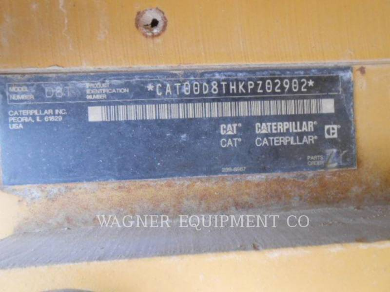 CATERPILLAR TRATORES DE ESTEIRAS D8T AW equipment  photo 5