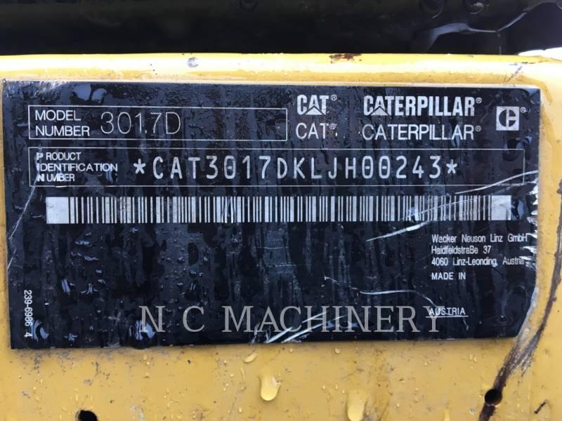 CATERPILLAR KETTEN-HYDRAULIKBAGGER 301.7D equipment  photo 2