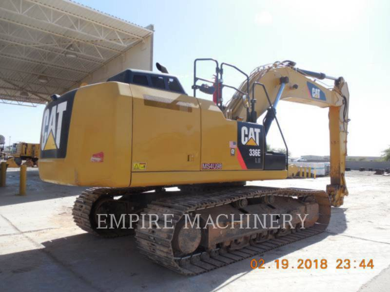 CATERPILLAR TRACK EXCAVATORS 336ELH equipment  photo 2