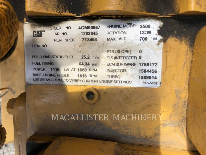 CATERPILLAR STATIONARY GENERATOR SETS 3508 equipment  photo 14