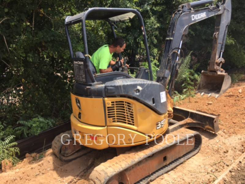 JOHN DEERE TRACK EXCAVATORS 35D equipment  photo 3
