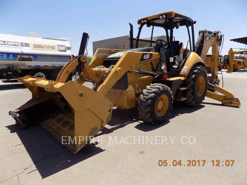 CATERPILLAR BAGGERLADER 450F 4EOMP equipment  photo 4