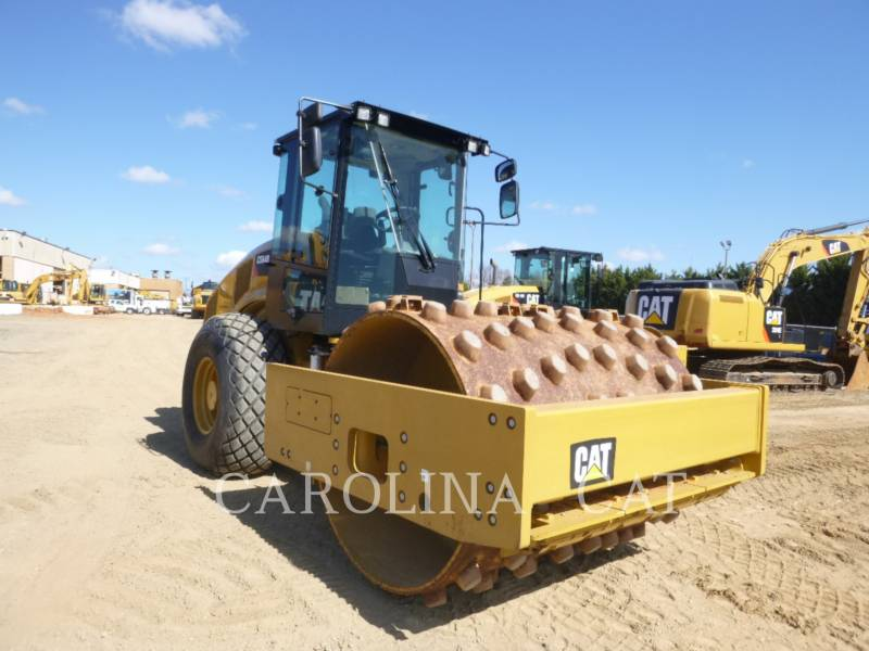 CATERPILLAR VIBRATORY SINGLE DRUM SMOOTH CS64B equipment  photo 5