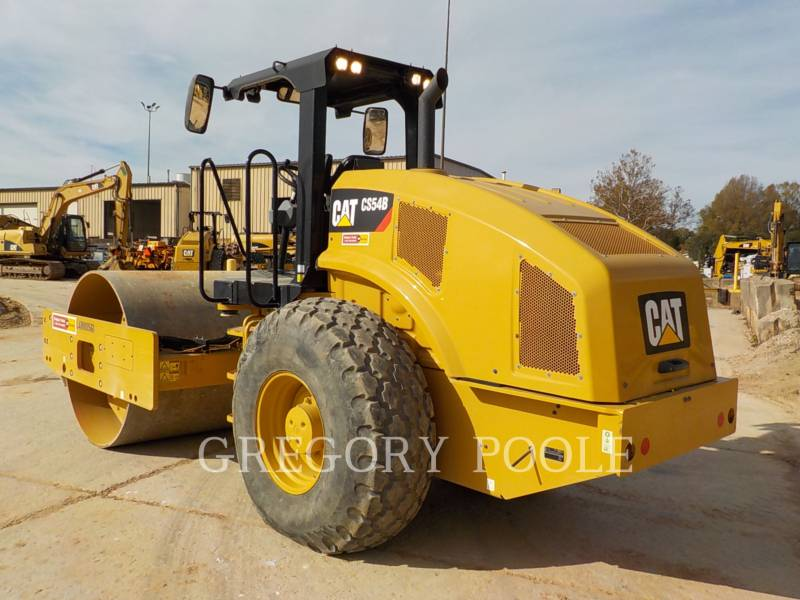 CATERPILLAR VIBRATORY SINGLE DRUM SMOOTH CS-54B equipment  photo 9