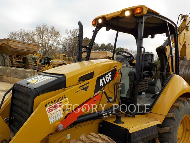 CATERPILLAR CHARGEUSES-PELLETEUSES 416F equipment  photo 2