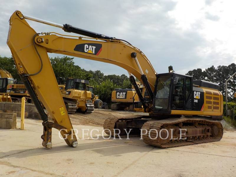CATERPILLAR PELLES SUR CHAINES 349EL equipment  photo 1
