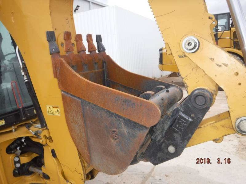 CATERPILLAR BAGGERLADER 420F2ST equipment  photo 9