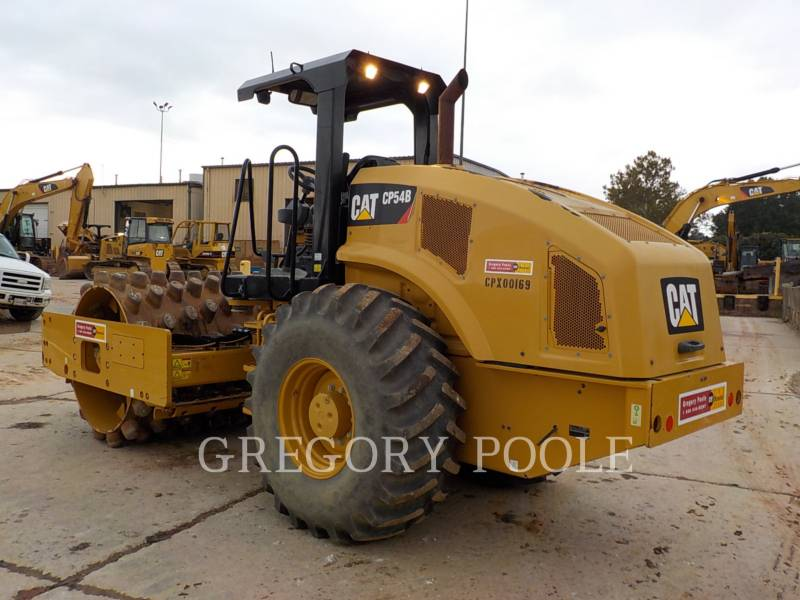 CATERPILLAR VIBRATORY SINGLE DRUM PAD CP54B equipment  photo 9