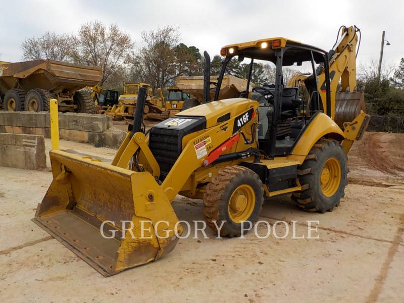 CATERPILLAR CHARGEUSES-PELLETEUSES 416F equipment  photo 1