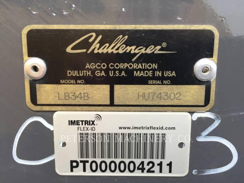 CHALLENGER AG HAY EQUIPMENT LB34B equipment  photo 3
