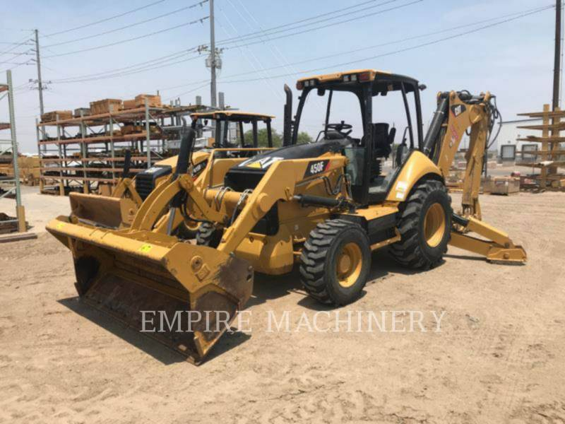 CATERPILLAR CHARGEUSES-PELLETEUSES 450F equipment  photo 4