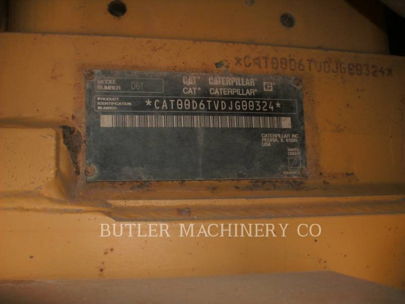 CATERPILLAR ブルドーザ D6TVP equipment  photo 6