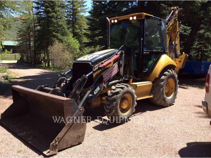 CATERPILLAR BACKHOE LOADERS 420E IT4WE equipment  photo 2