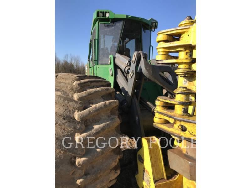 DEERE & CO. EXPLOITATION FORESTIÈRE - ABATTEUSES-GROUPEUSES - SUR PNEUS 843L equipment  photo 5