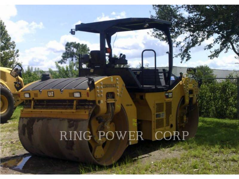 CATERPILLAR TANDEMVIBRATIONSWALZE, ASPHALT CB64B equipment  photo 1