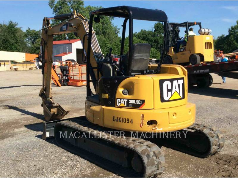 CATERPILLAR TRACK EXCAVATORS 305.5E equipment  photo 8