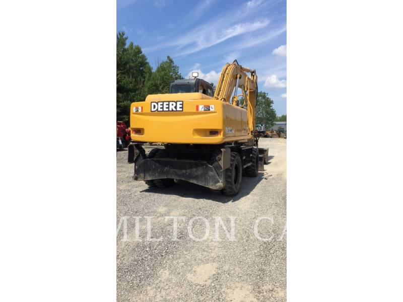 JOHN DEERE WHEEL EXCAVATORS 180C W equipment  photo 4
