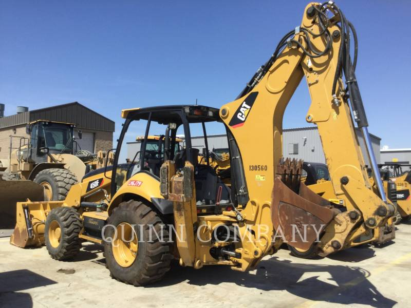 CATERPILLAR BACKHOE LOADERS 450F equipment  photo 2