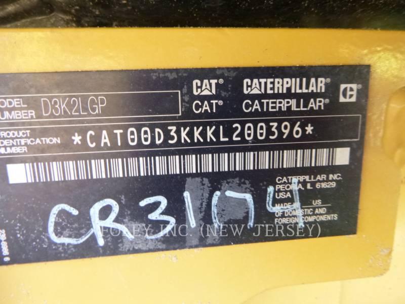 CATERPILLAR TRACK TYPE TRACTORS D3K2LGP equipment  photo 7