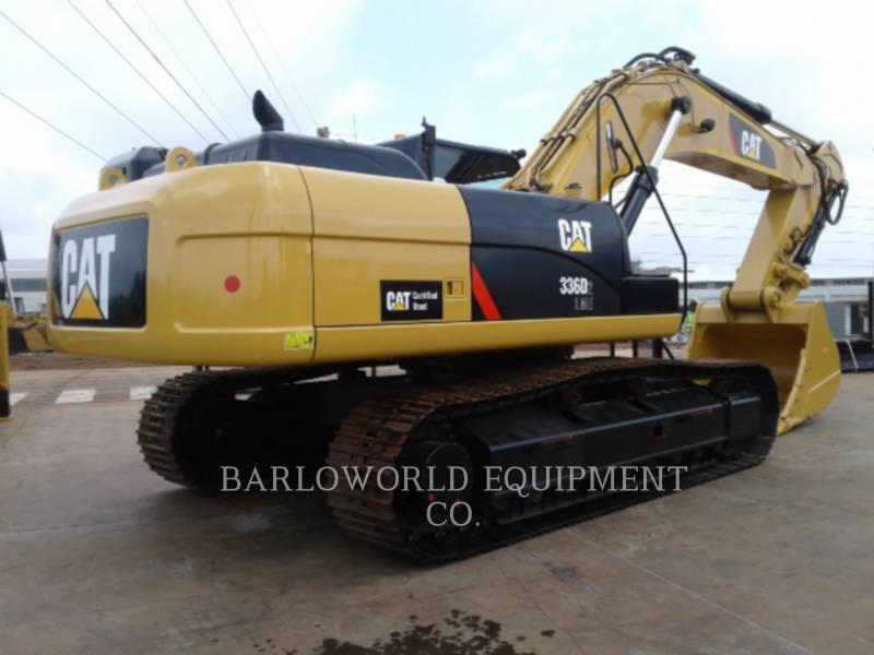 CATERPILLAR BERGBAU-HYDRAULIKBAGGER 336D equipment  photo 1