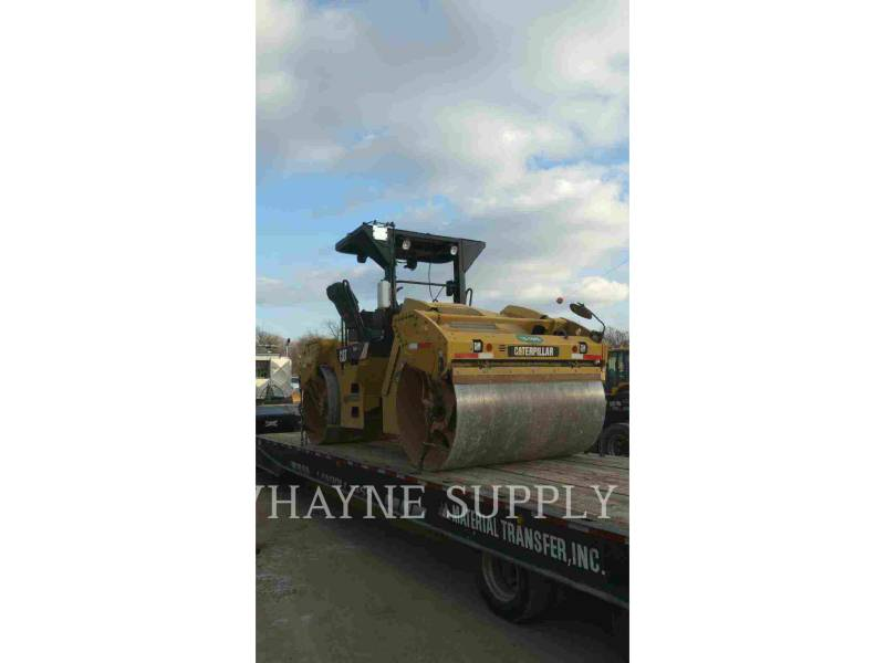 CATERPILLAR TANDEMVIBRATIONSWALZE, ASPHALT CB54 equipment  photo 6