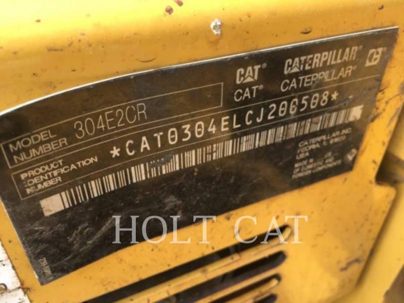 CATERPILLAR PELLES SUR CHAINES 304E2 CR equipment  photo 5