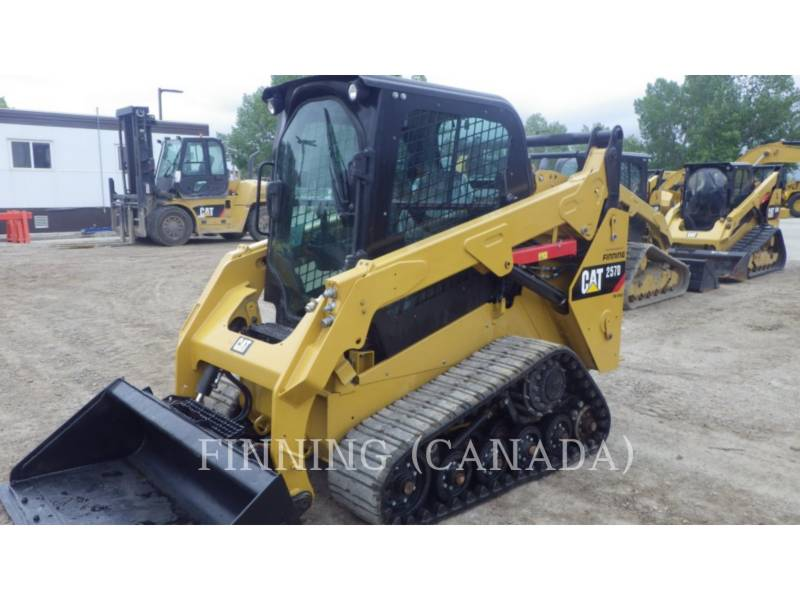 CATERPILLAR CARGADORES MULTITERRENO 257DLRC equipment  photo 6