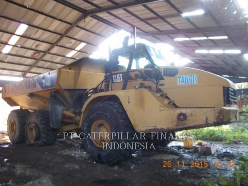 CATERPILLAR CAMIONES ARTICULADOS 740 equipment  photo 1