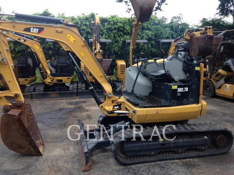 CATERPILLAR ESCAVATORI CINGOLATI 302.7DCR equipment  photo 1
