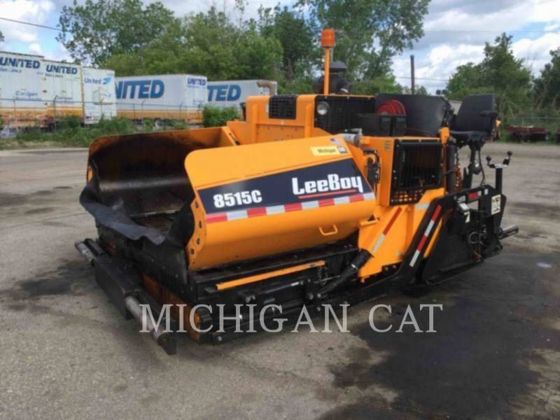 LEE-BOY ASPHALT PAVERS 8515C equipment  photo 1