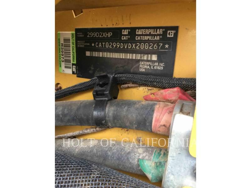 CATERPILLAR MINICARGADORAS 299D2XHP equipment  photo 23