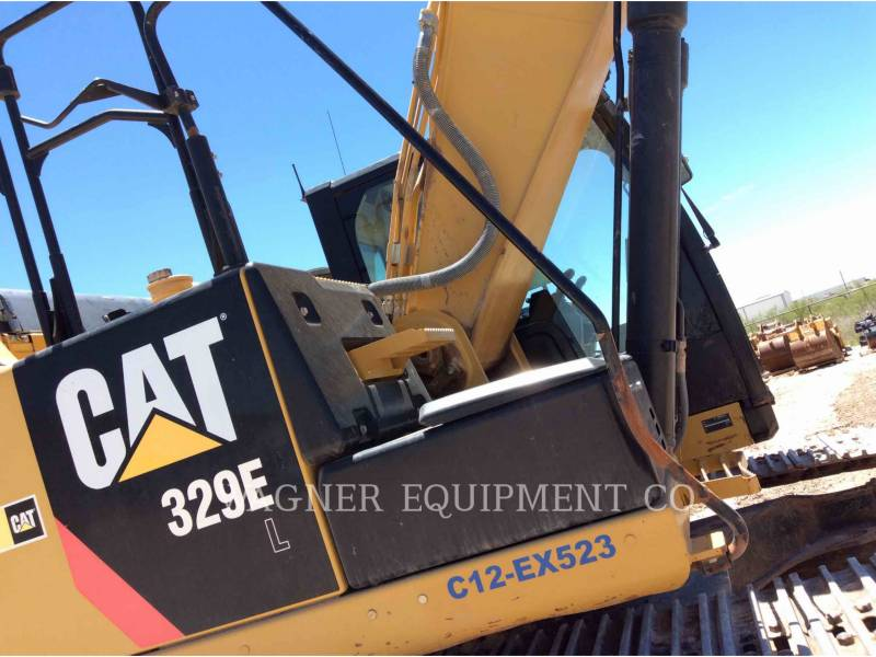 CATERPILLAR TRACK EXCAVATORS 329EL TC equipment  photo 10