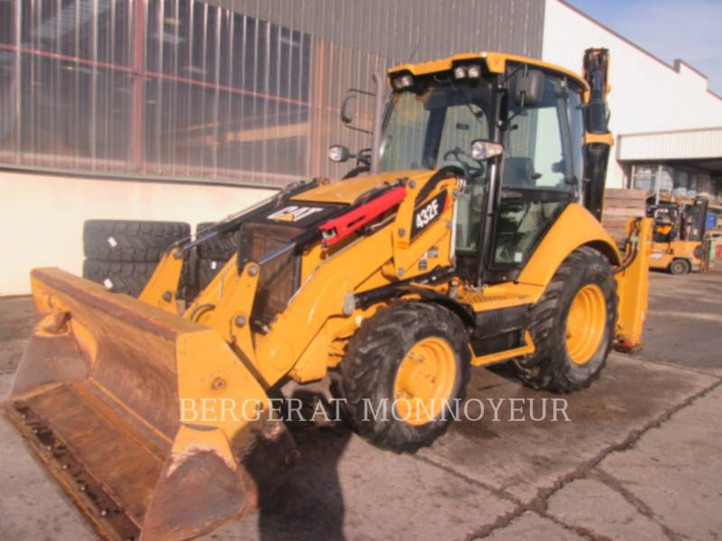 CATERPILLAR バックホーローダ 432F equipment  photo 2