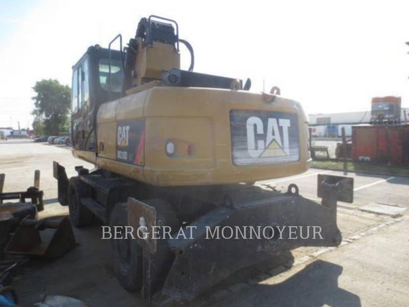 CATERPILLAR WHEEL EXCAVATORS M318D MH equipment  photo 4
