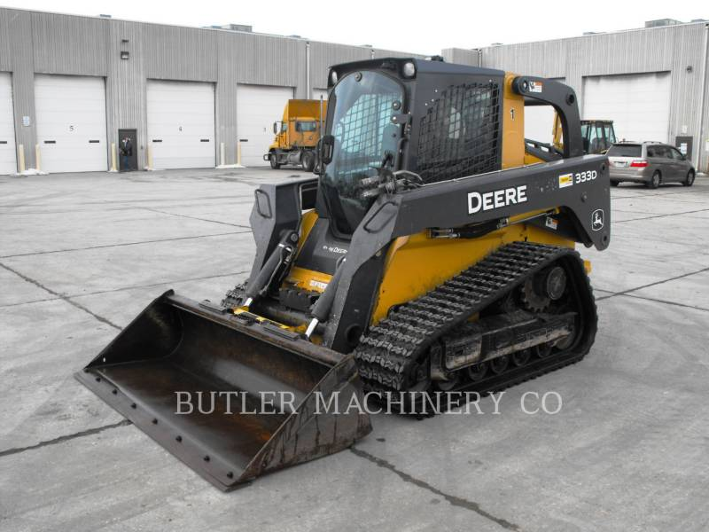 DEERE & CO. SKID STEER LOADERS 333D equipment  photo 1