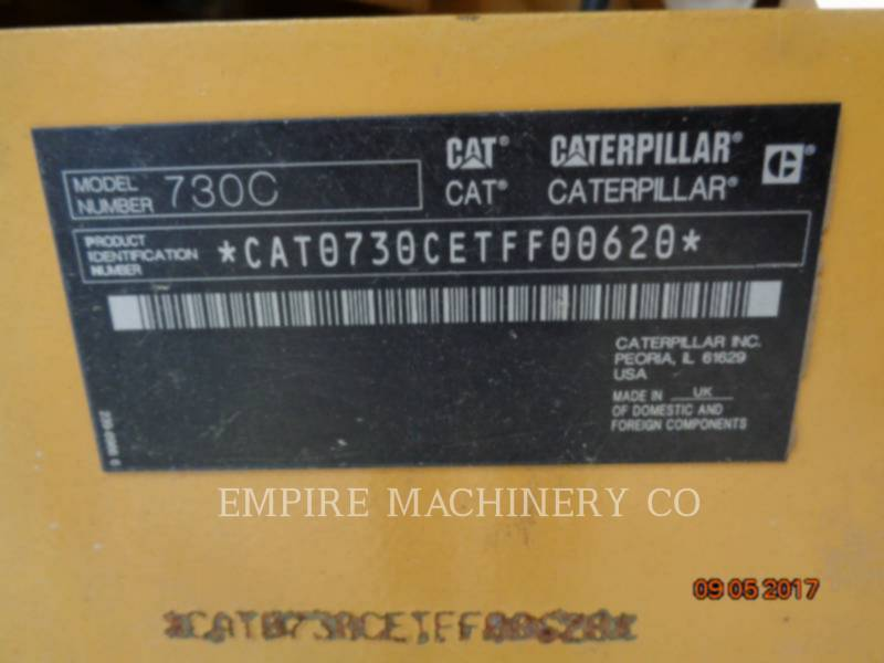 CATERPILLAR TOMBEREAUX DE CHANTIER 730C equipment  photo 11